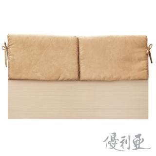 【優利亞-米羅靠枕型】雙人5尺床頭片(4款可選)