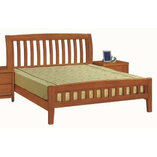 【優利亞-南洋風情】加大6尺實木床架(不含床墊)