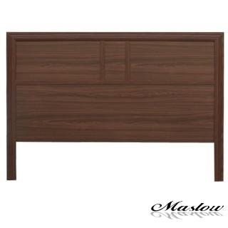 【Maslow-流行胡桃加高型】單人床頭片-3.5尺
