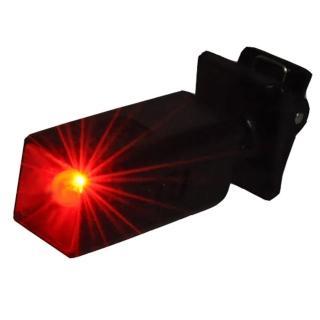 【WalkBox】迷你LED夾式閃爍紅光警示夾燈