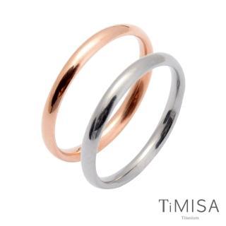 【TiMISA】純真 純鈦對戒(雙色可選)