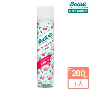 【Batiste】秀髮乾洗噴劑(香甜櫻桃200ml)