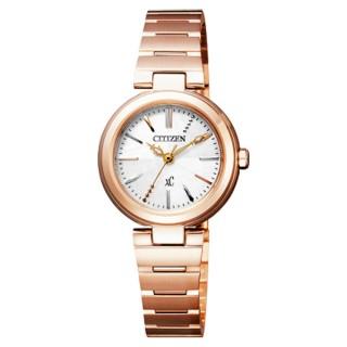 【CITIZEN】xC系列 璀璨年代光動能時尚腕錶(玫瑰金 FE2022-52A)