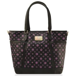 【Dennibella 丹妮貝拉】紫色皇冠時尚吊帶包(4D115102-7)