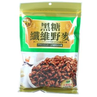 【達人傳家】黑糖纖維野麥(210G)
