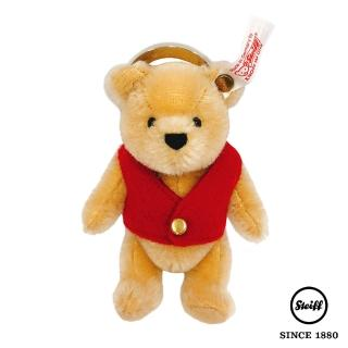 【STEIFF德國金耳釦泰迪熊】Winnie the Pooh 小熊維尼(限量版吊飾)
