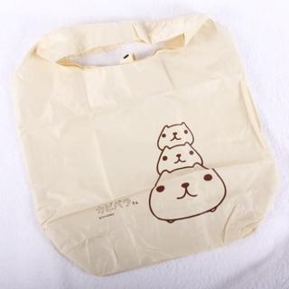 【Kapibarasan 】水豚君防水便利袋(米 )