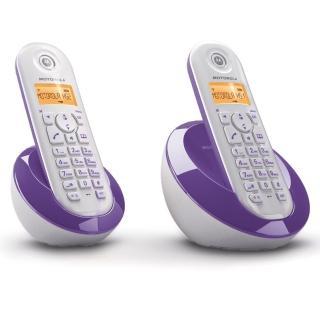 【MOTOROLA】DECT數位無線雙子機 C602(雙手機)