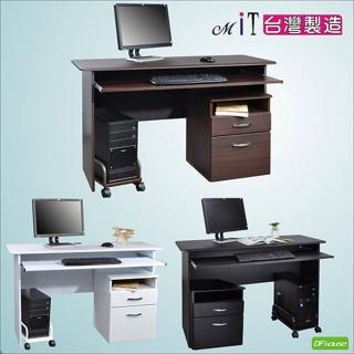 《DFhouse》黑森林電腦桌+主機架+檔案櫃(3色)