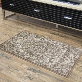 【范登伯格】卡里☆頂級立體雕花絲質地毯-羅漾-共兩色(60x100cm)