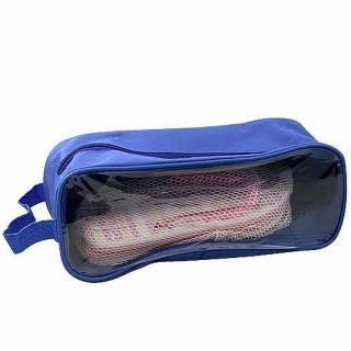 【iSFun】旅行專用鞋用透視收納袋