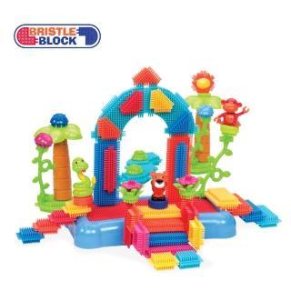 【美國B.Toys】鬃毛積木_叢林冒險Battat系列(58PCS)
