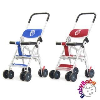 【BabyBabe】輕便型手推車(加碼送防風防塵雨罩)