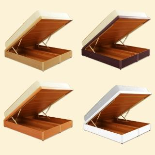 【送全包式保潔墊x1】美滿5尺雙人330磅數+安全裝置掀床(4色可選)