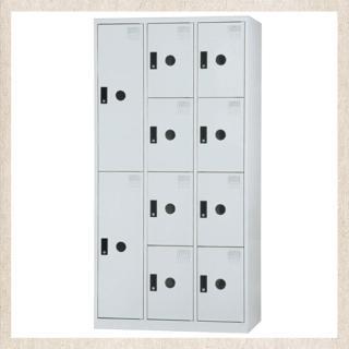 【時尚屋】DJ多用途塑鋼製辦公置物櫃(9-12)