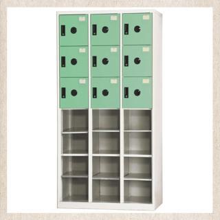 【時尚屋】DJ多用途塑鋼製辦公置物櫃(10-2)