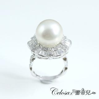 【蕾帝兒珠寶】-璀璨之星白色貝珠戒