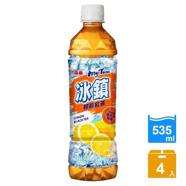 【泰山】冰鎮紅茶(535ml-4入)