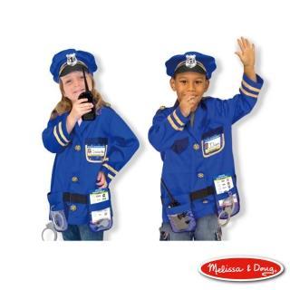 【美國瑪莉莎 Melissa & Doug】警察服裝扮遊戲組