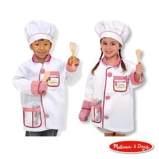 【美國瑪莉莎 Melissa & Doug】廚師服裝扮遊戲組