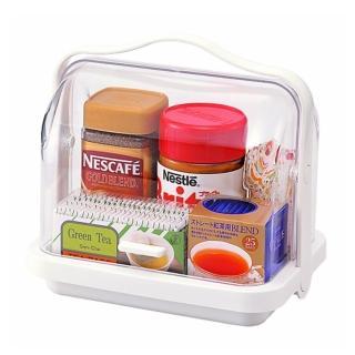 【日本inomata】手提式透明收納盒