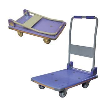 【COLOR】塑鋼折疊手推車(150kgs)