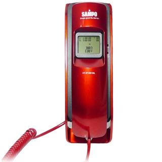 【SAMPO聲寶】來電顯示有線電話 HT-W1201WL(兩色)