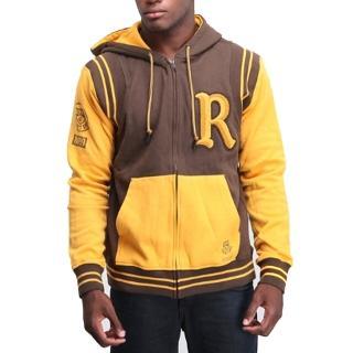 【摩達客】美國進口Rocawear 棕黃R標連帽外套