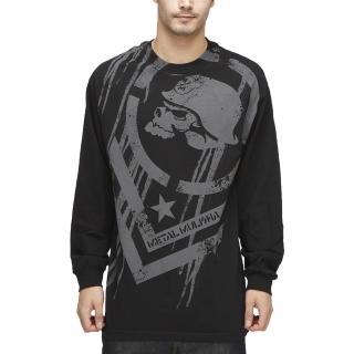 【摩達客】美國進口(Metal Mulisha)超酷骷髏標誌長袖T恤