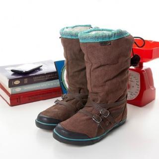 【asics】女-- 時尚鞋 SIENNA (咖啡TQA315-6161)
