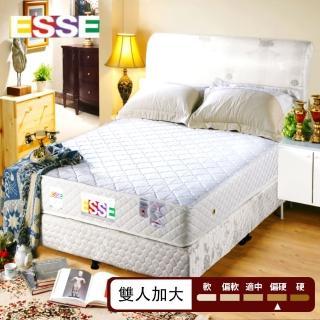【ESSE御璽名床】健康(記憶硬式床墊 6*6.2尺雙人加大硬床系列)