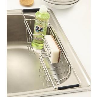 【樂活主義】不鏽鋼水槽洗碗精掛籃