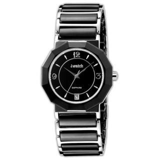 【iwatch】歐風時尚陶瓷男錶(黑 IW-2006M-1)
