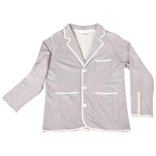 【摩達客】美國LA設計品牌Suvnir灰色休閒西裝外套