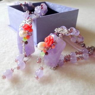 【JIN YANG】紫醉晶迷典藏頂級紫玉髓套組