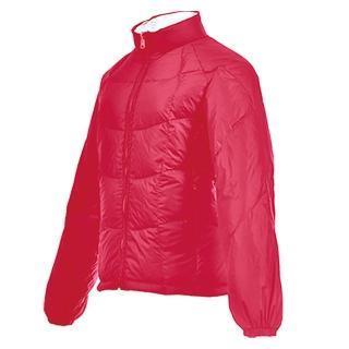 【FOX FRIEND 橋登】女款雙面穿超輕羽絨外套(1090I 桃紅/灰白)