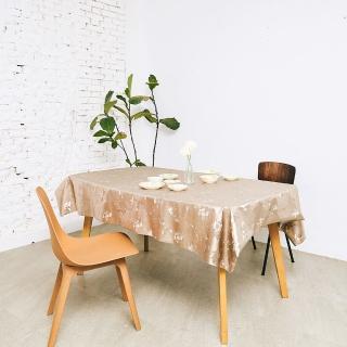 【Homemaker】古典印花金屬桌巾-長180cmX寬137cm(RN-PW143-026)
