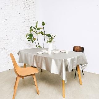 【Homemaker】素面金屬桌巾-長180cmX寬137cm(RN-PW73-035)