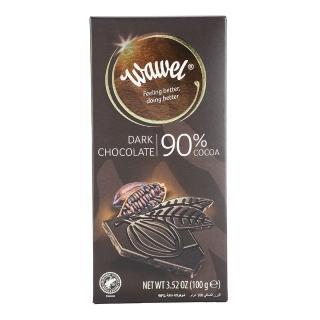 【瓦維爾】90%純黑巧克力100g