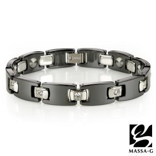 【MASSA-G】Deco系列 Black黑白絕配(陶瓷手環)