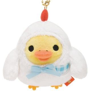 【San-X】小雞荷包蛋咕咕雞系列毛絨小公仔吊飾