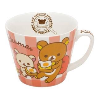 【San-X】懶熊荷包蛋咕咕雞系列馬克湯杯