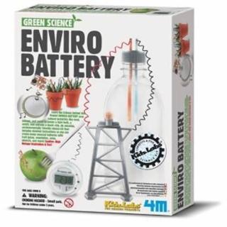 【4M】環保電池(科學探索系列)