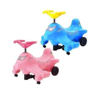 【親親Ching Ching】飛機扭扭車(粉/藍)