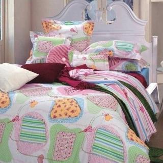 【情定巴黎】糖果屋精梳棉八件式床罩組(雙人)