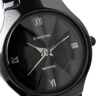 【Arseprince】簡約四刻鏡面切割女錶(銀色)