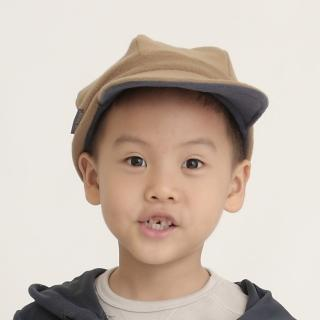【Vital Silver 銀盾】童 VITAL WARM 翻折遮耳飛行保暖帽(駝色)