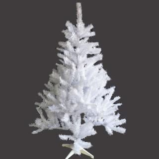 【聖誕裝飾特賣】台製豪華型4呎/4尺(120cm夢幻白色聖誕樹 裸樹-不含飾品不含燈)