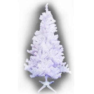【聖誕裝飾特賣】台製豪華型5呎/5尺(150cm夢幻白色聖誕樹 裸樹-不含飾品不含燈)