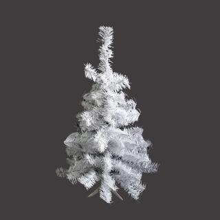 【聖誕裝飾特賣】台製豪華型2尺/2呎(60cm夢幻白色聖誕樹裸樹-不含飾品不含燈)